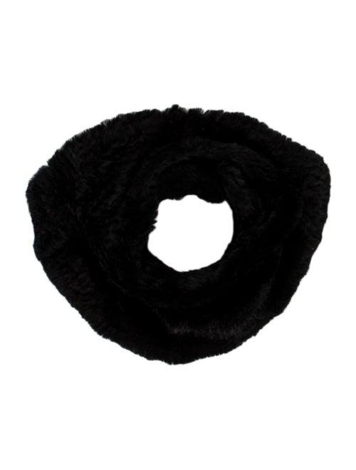 Adrienne Landau Knit Snood Black