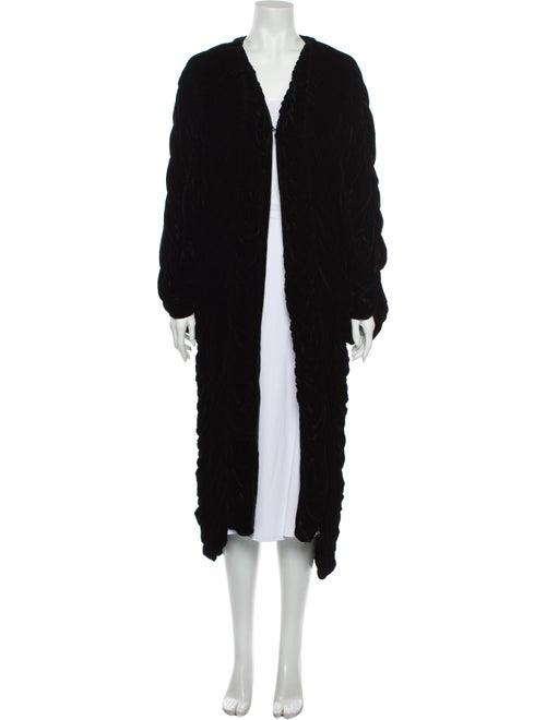 Adrienne Landau Coat Black