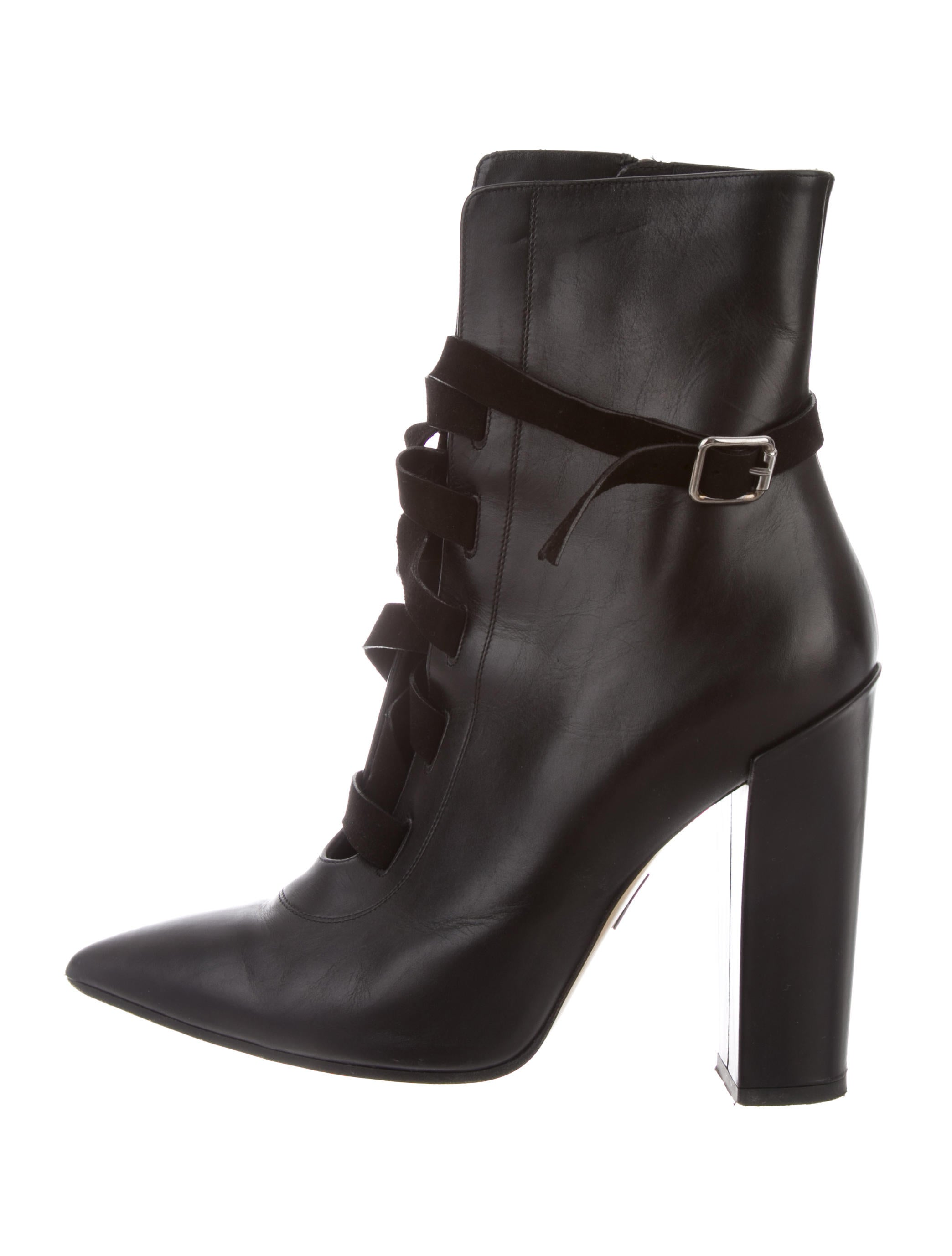 Adeam Lace-Up Ankle Boots - Shoes