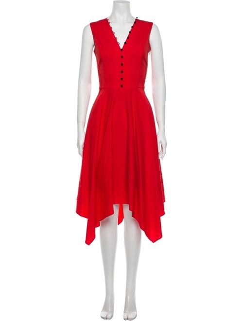 Adeam Wool Long Dress Wool