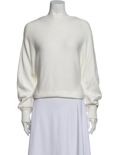 Adeam Crew Neck Sweater White