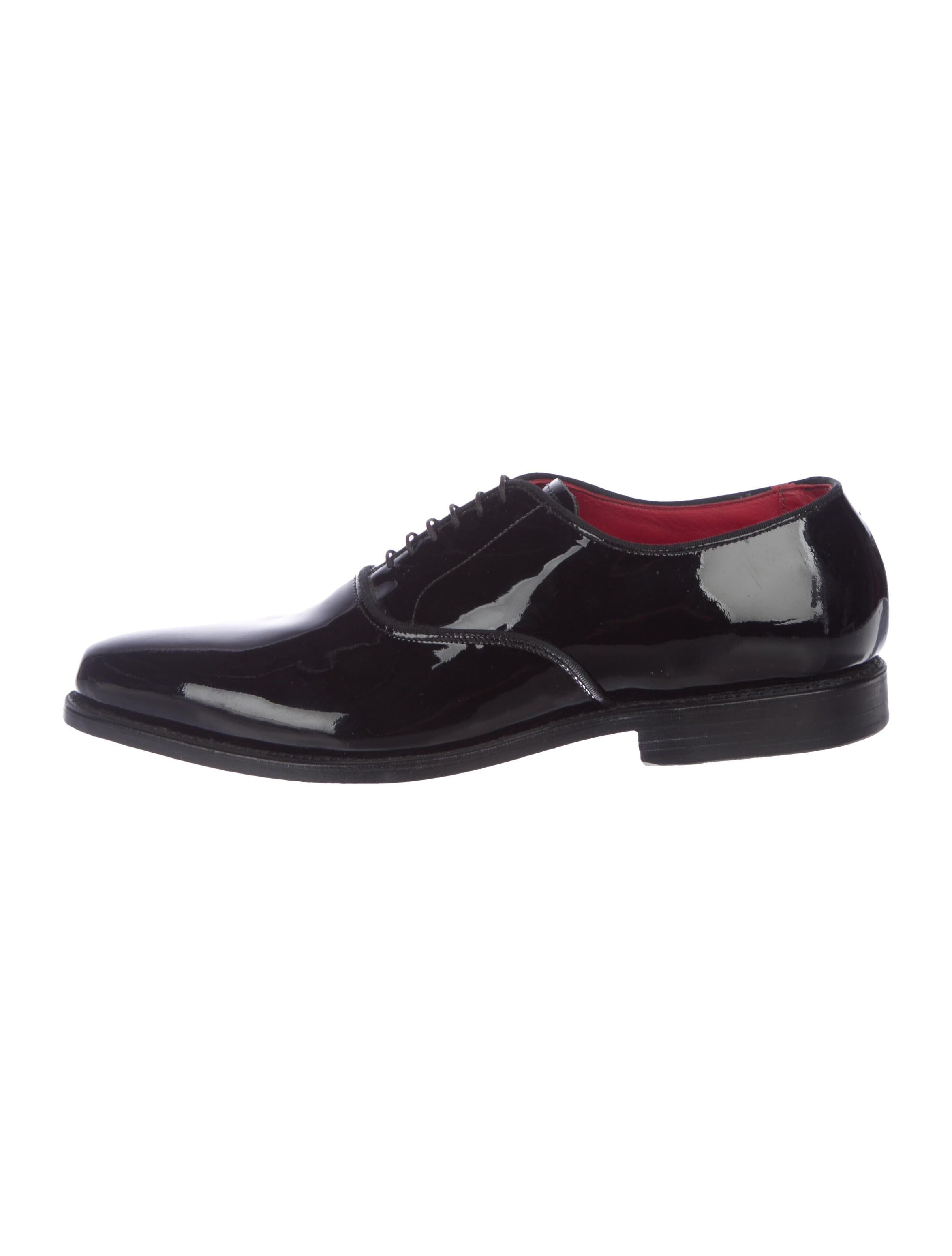 0c17e9583a7 Allen Edmonds Patent Tuxedo Oxforeds - Shoes - AED20446
