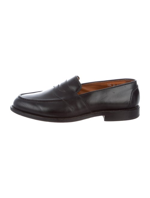 Allen Edmonds Leather Penny Loafers black