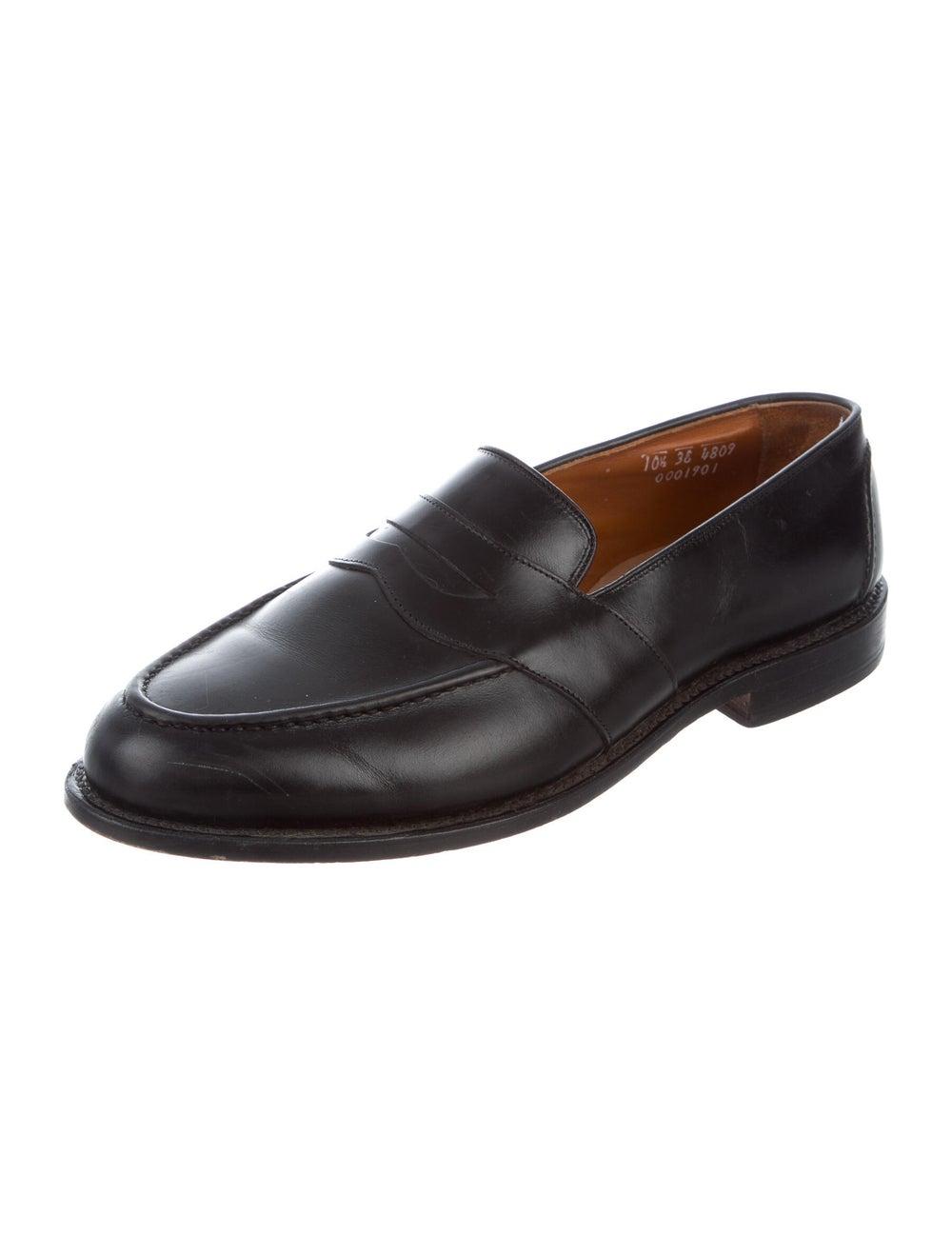 Allen Edmonds Leather Penny Loafers black - image 2