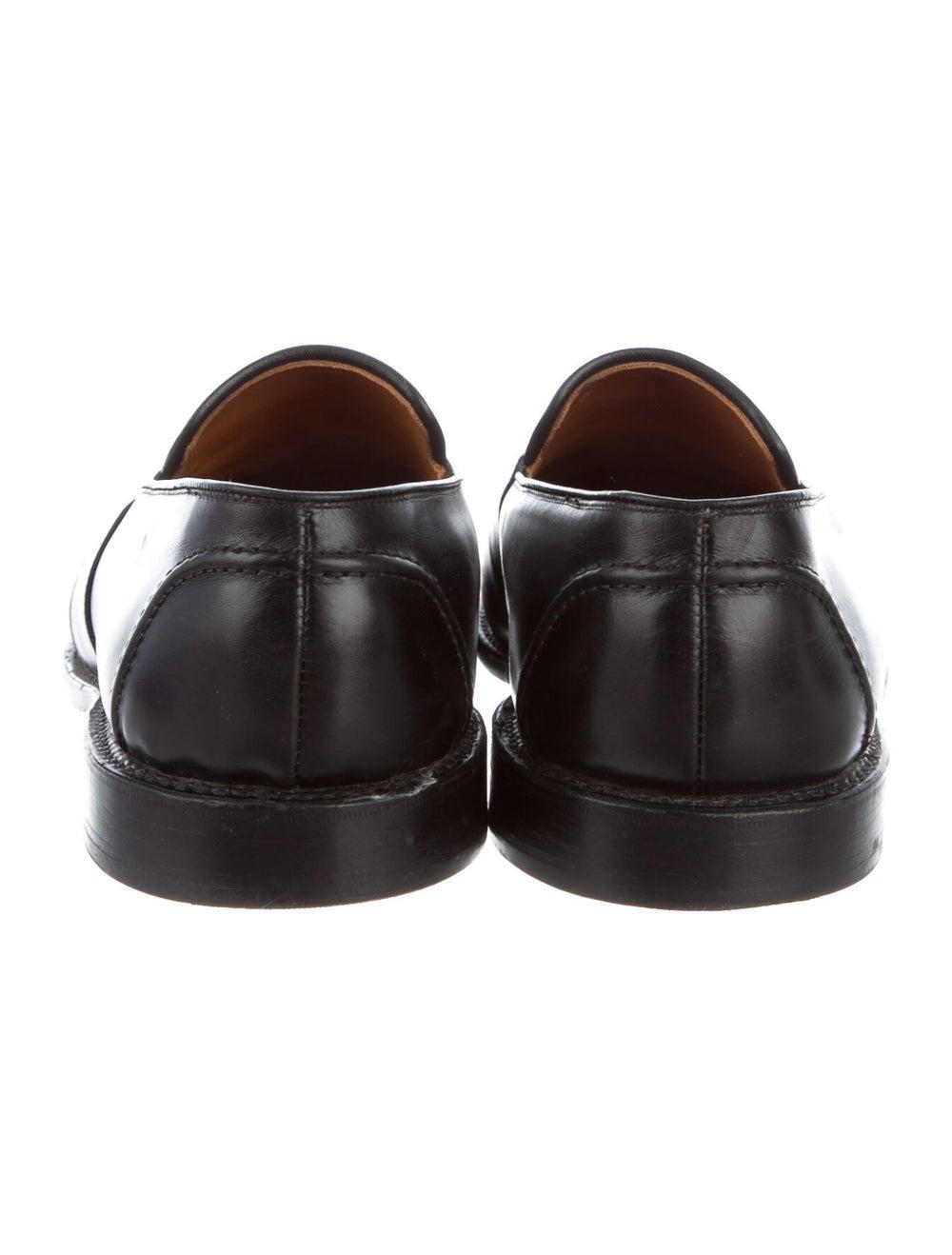 Allen Edmonds Leather Penny Loafers black - image 4