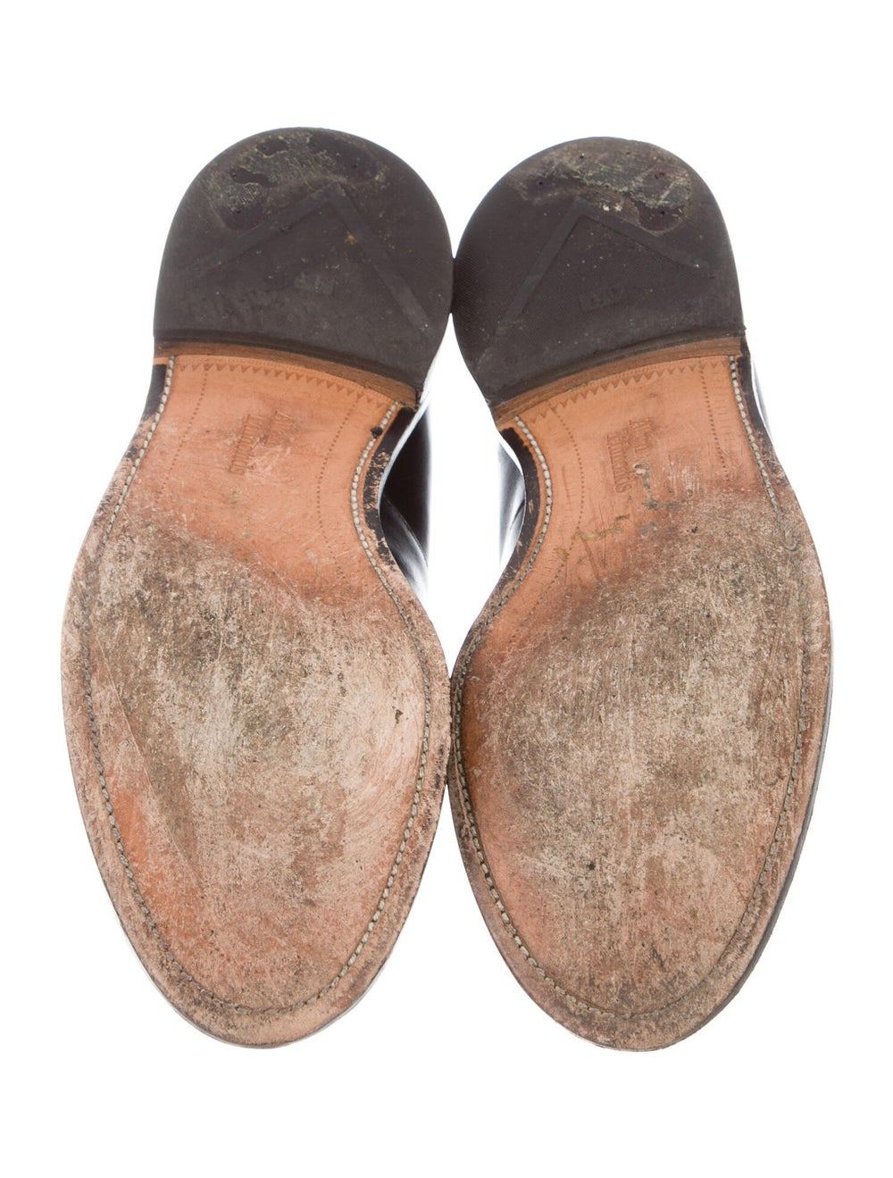 Allen Edmonds Leather Penny Loafers black - image 5