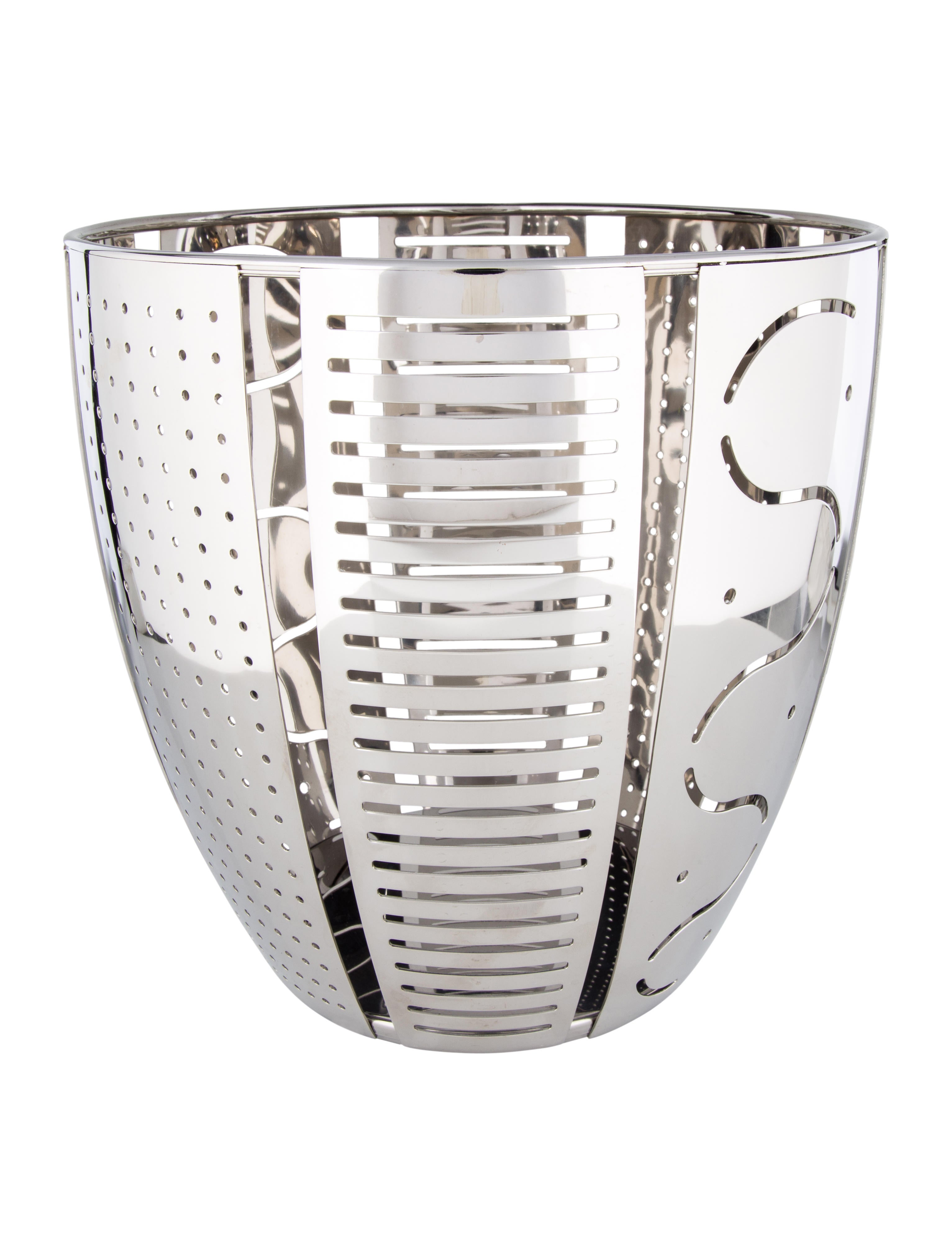 Alessi helmut fruit basket tabletop and kitchen aei20250 the realreal - Alessi fruit basket ...