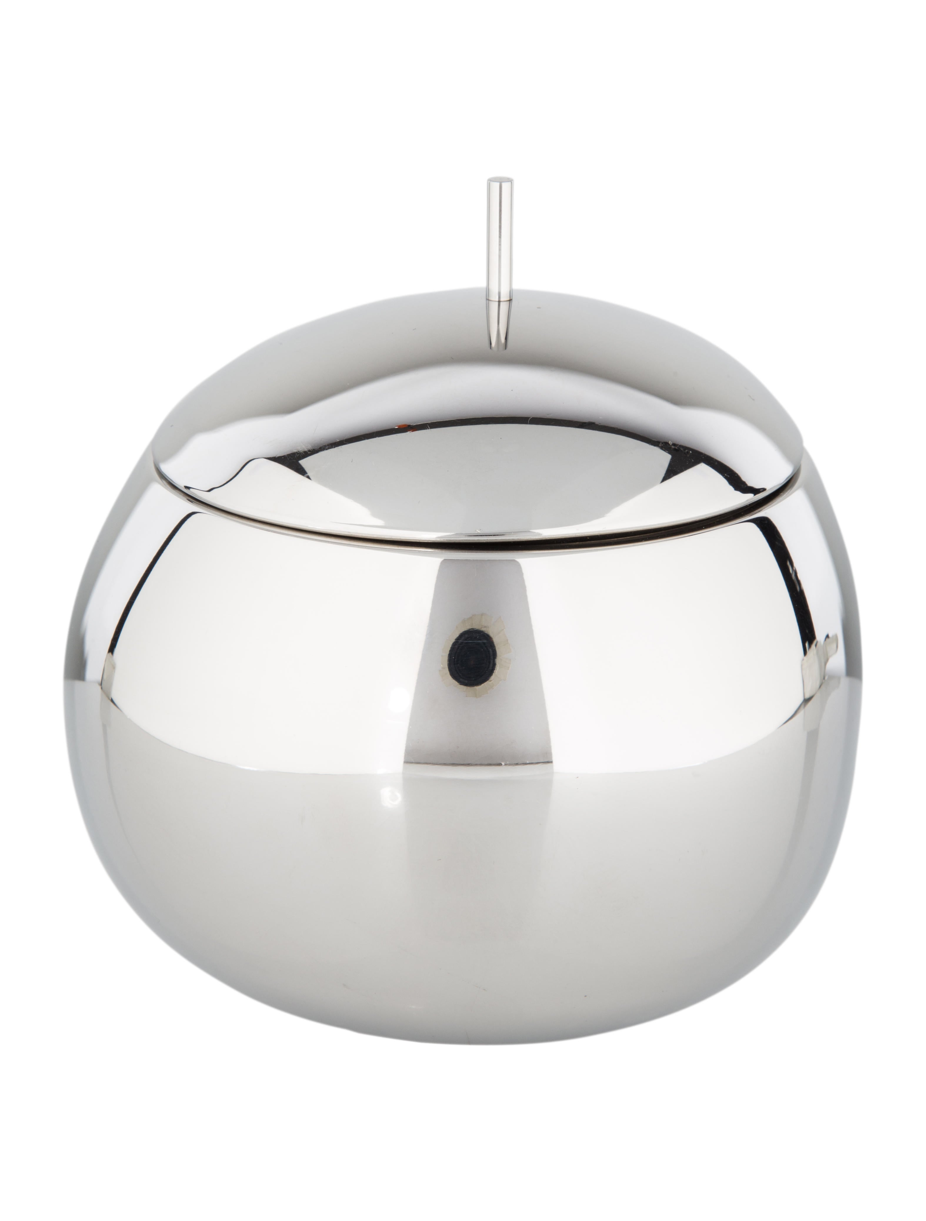 Alessi fruit basket kitchen box tabletop and kitchen aei20258 the realreal - Alessi fruit basket ...