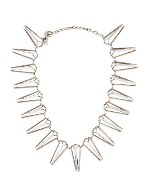 Auden Skeleton Collar Necklace Silver