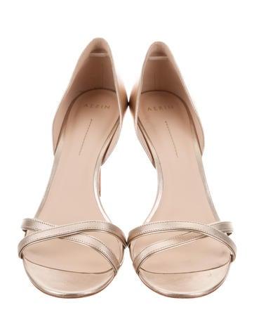 AERIN Metallic Crossover Sandals release dates online for sale finishline 84eGIIuQkQ