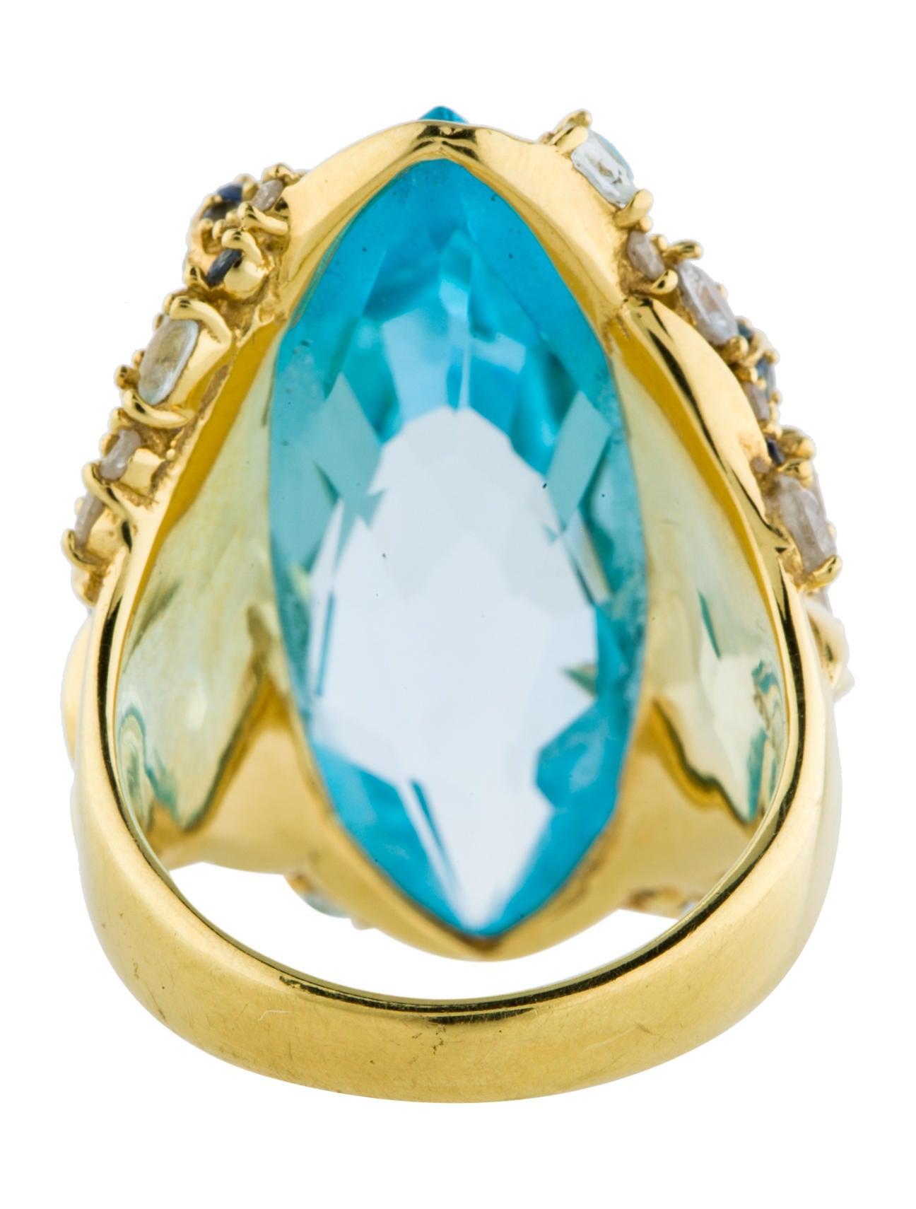 alexis bittar fine jewelry 18k quartz ring rings