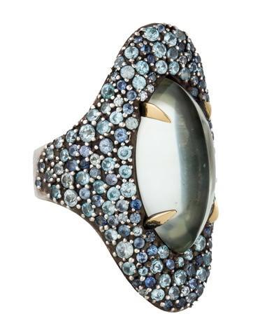 Alexis Bittar Fine Jewelry Pavé Drama Marquis Ring None