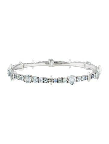 Alexis Bittar Fine Jewelry Quartz & Sapphire Bracelet