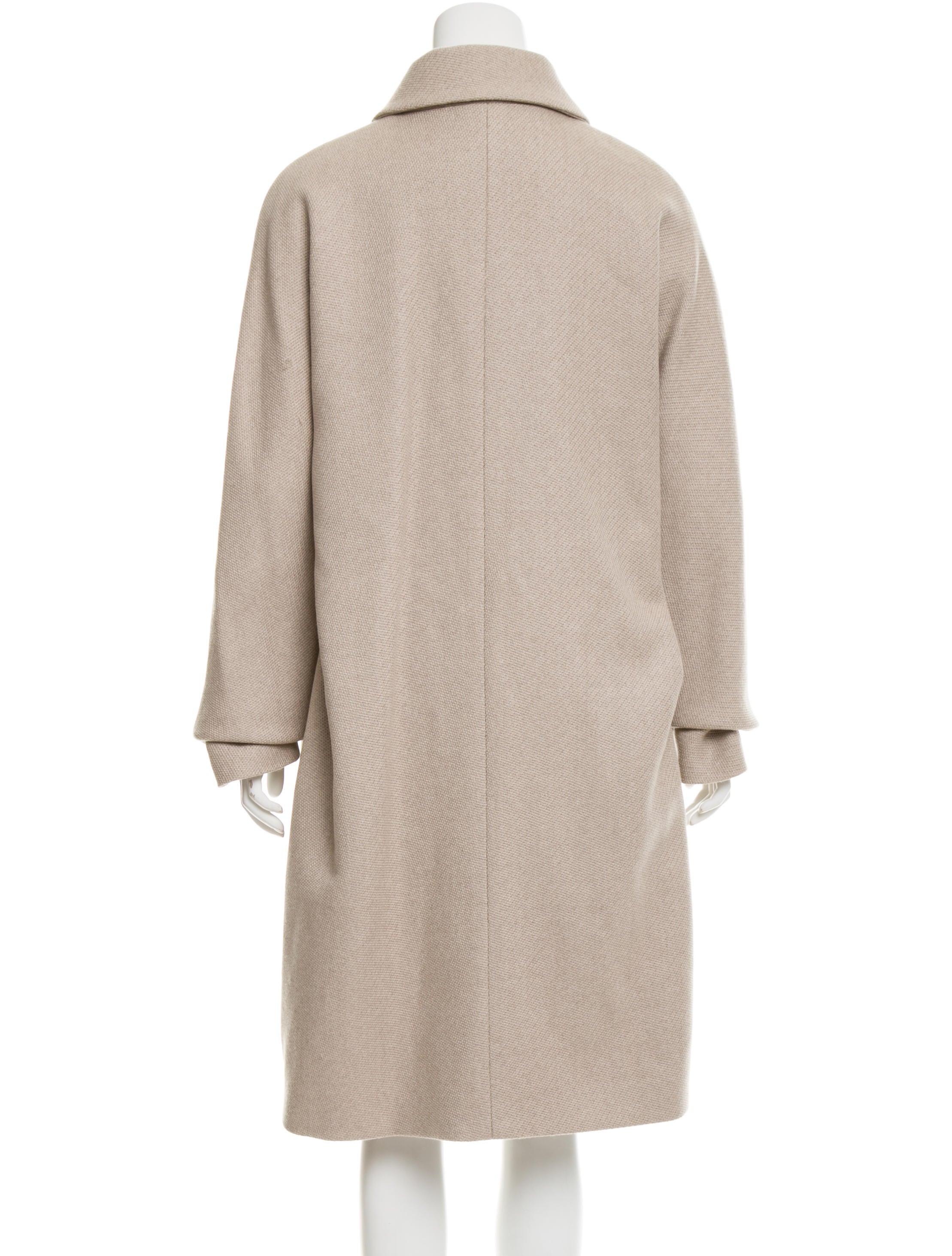 Heavy wool overcoat