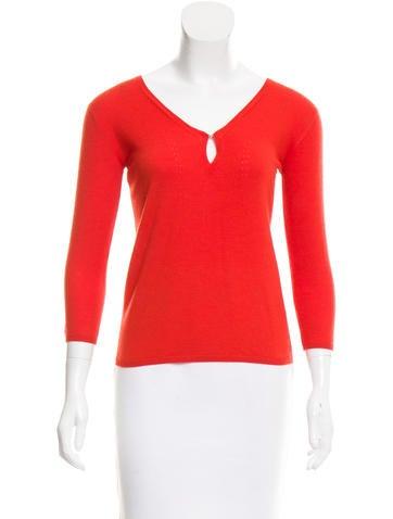 Agnona Cashmere Knit Sweater None