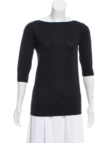 Agnona Wool Knit Sweater None