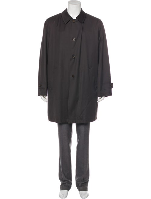 Agnona Point Collar Car Coat