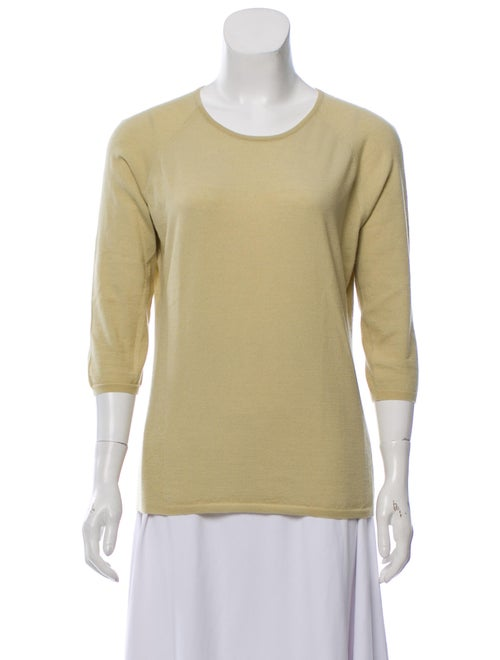 Agnona Cashmere Knit Sweater Green
