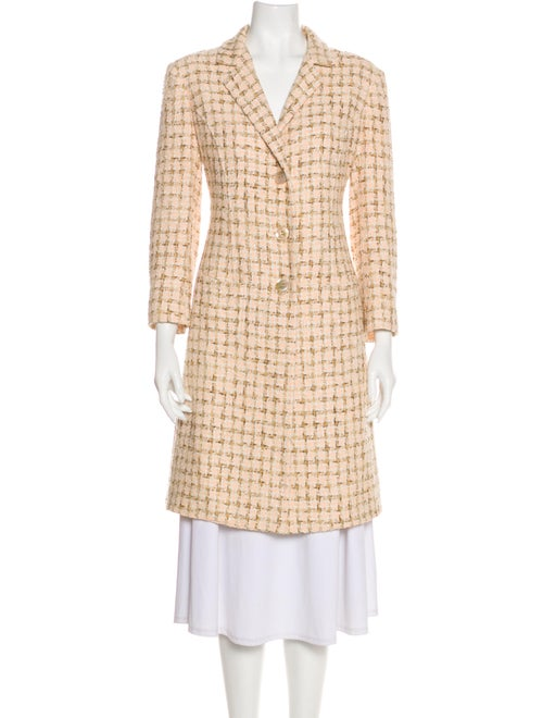 Agnona Tweed Pattern Coat