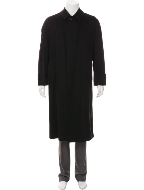 Agnona Cashmere Car Coat black