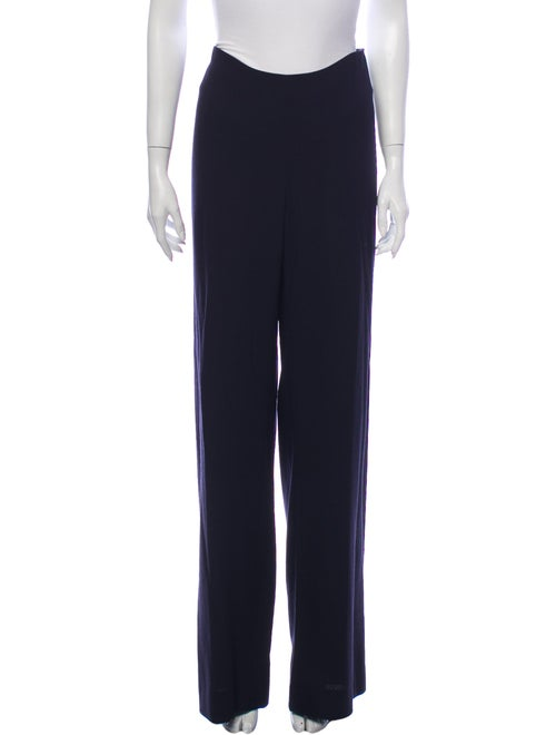 Agnona Wool Wide Leg Pants Wool