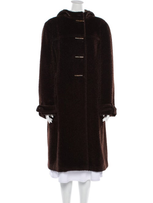 Agnona Alpaca Coat Brown