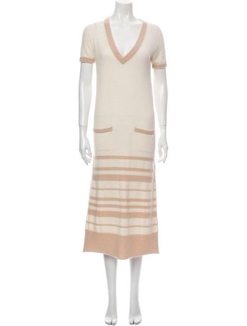 Agnona Cashmere Midi Length Dress