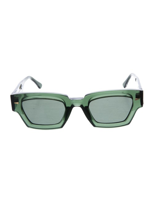 Ahlem Square Tinted Sunglasses Green