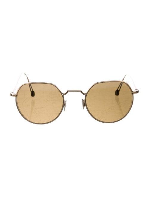 Ahlem Tinted Round Sunglasses Gold