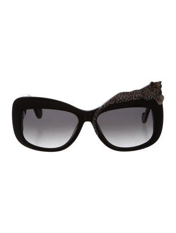 Oversize Leopard Sunglasses w/ Tags