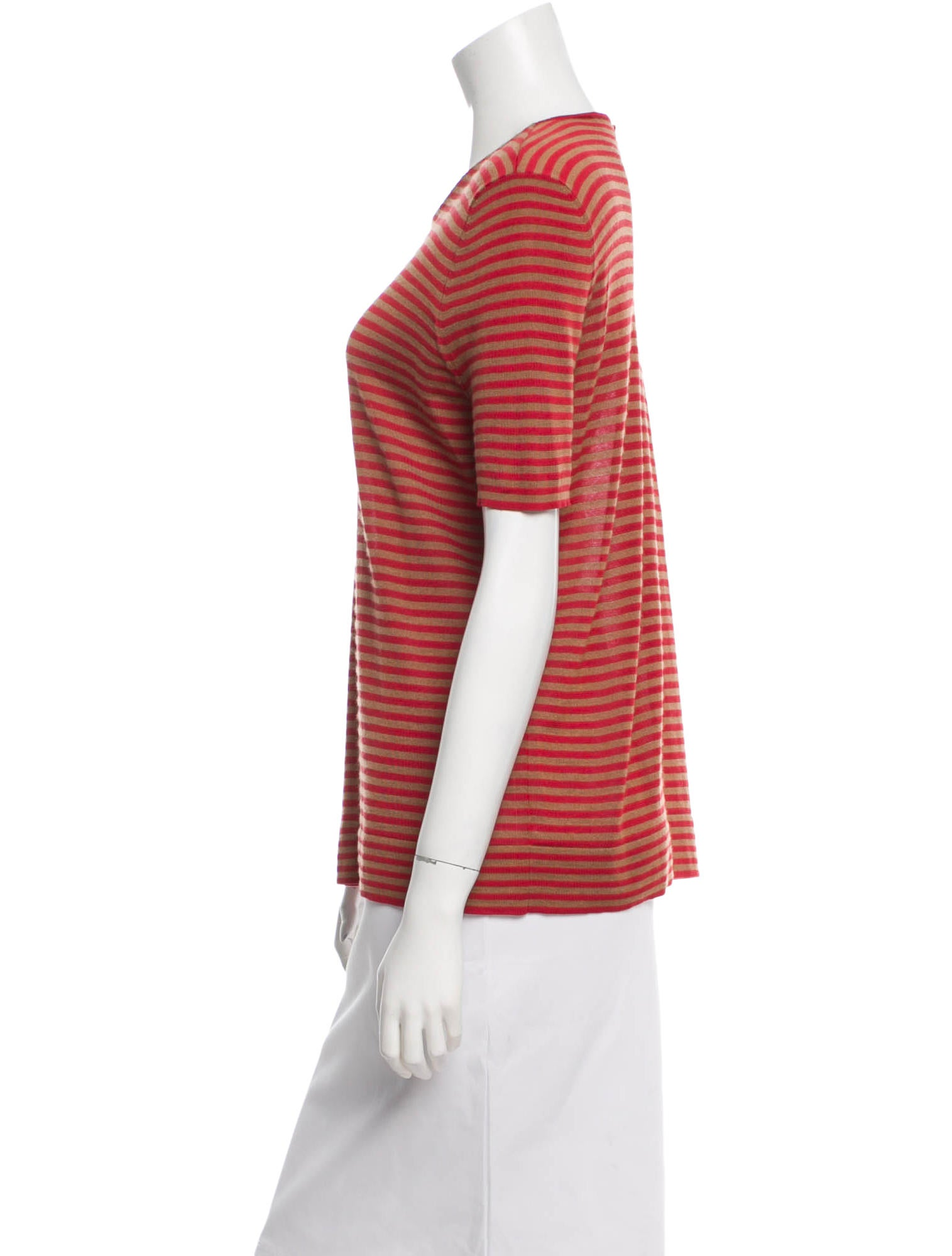 Akris Striped Cashmere Top Clothing AKR25655 The  : AKR256552enlarged from www.therealreal.com size 1515 x 1999 jpeg 127kB