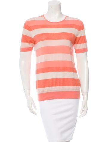 Akris Striped Cashmere-Blend Sweater None