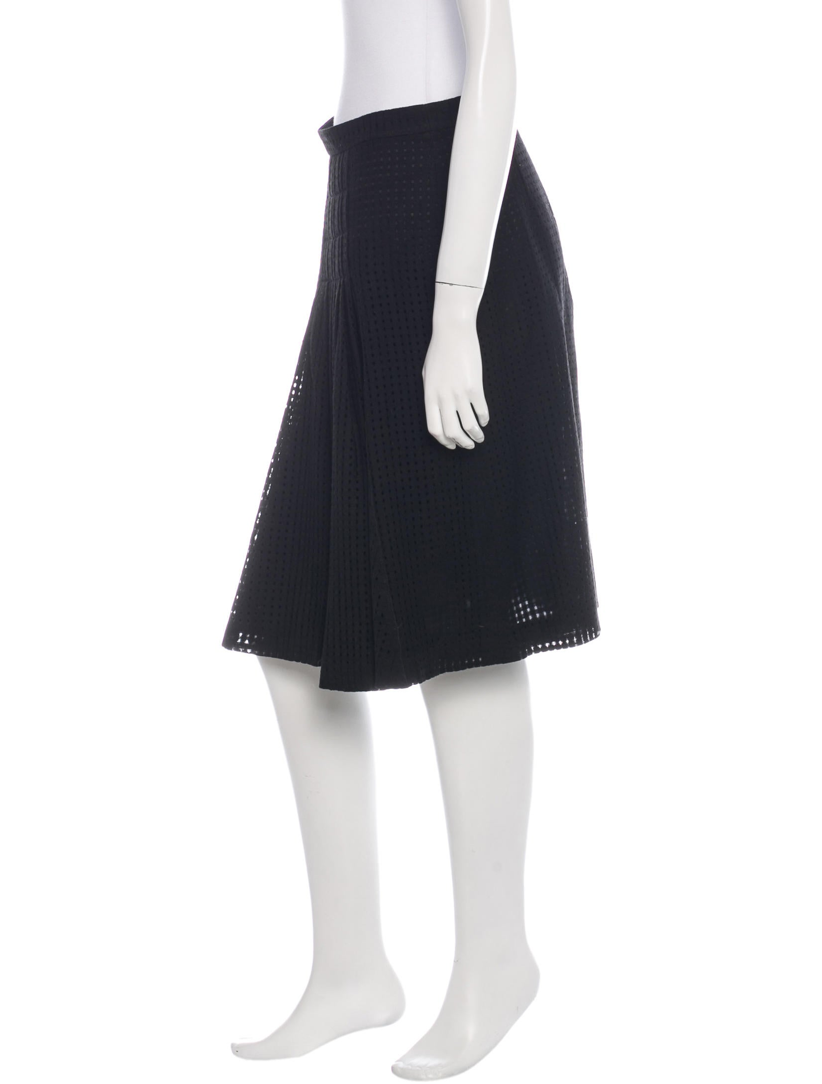 akris wool a line skirt clothing akr27764 the realreal