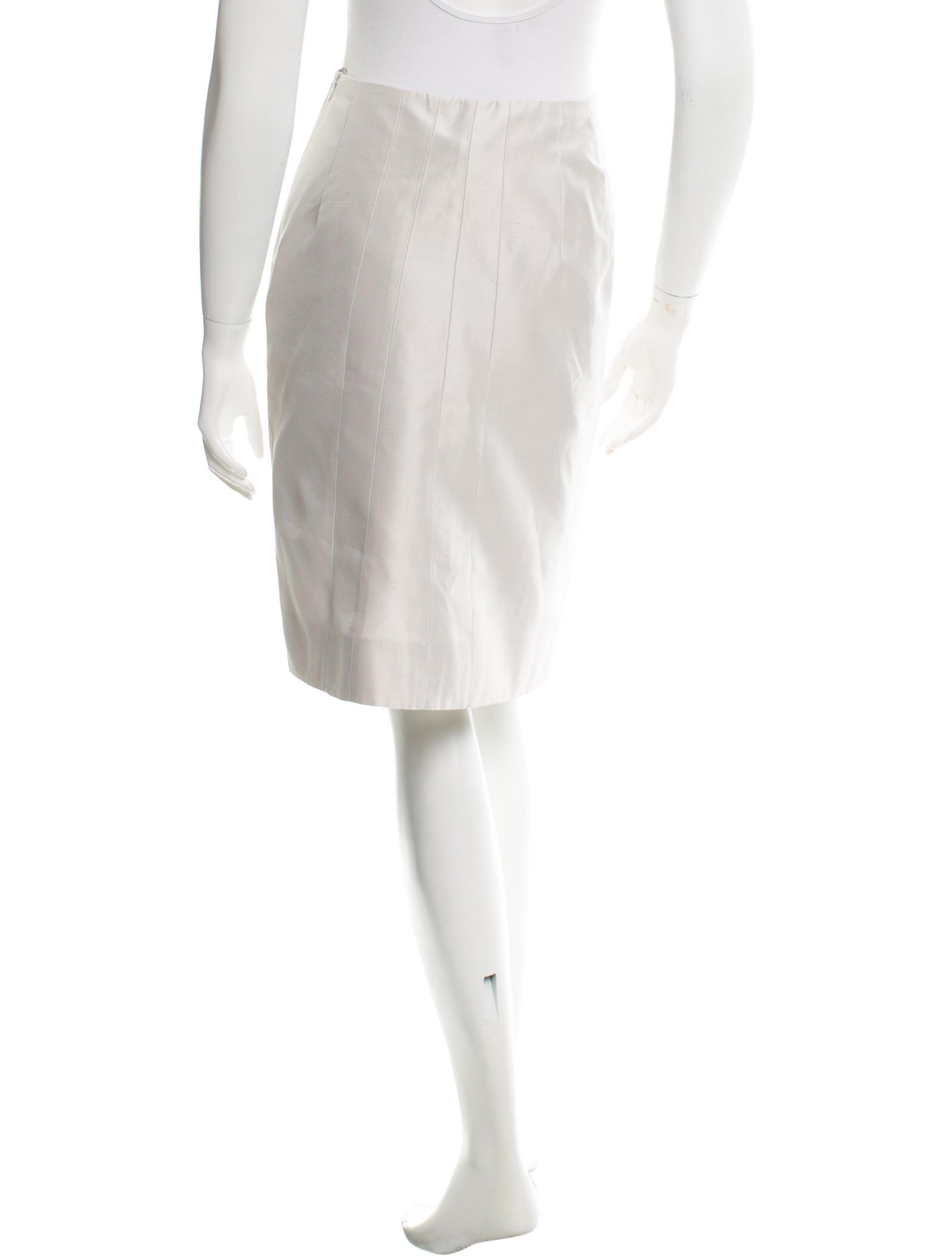 akris a line knee length skirt w tags clothing