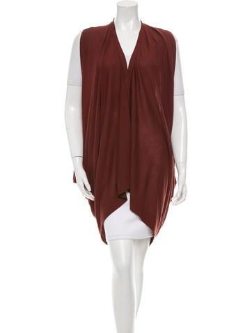 Akris Oversize Wool Vest None