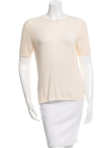 Akris Cashmere Short Sleeve Top w/ Tags None