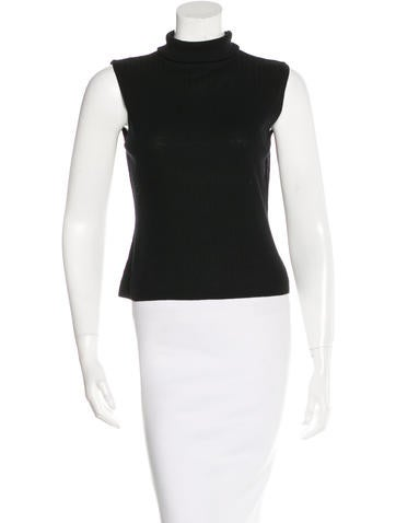 Akris Sleeveless Knit Top None