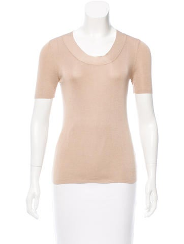 Akris Silk Knit Top None