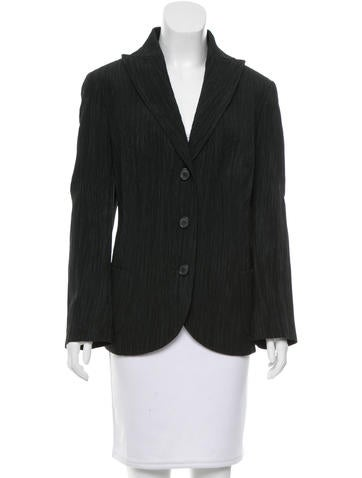 Akris Textured Wool-Blend Blazer None