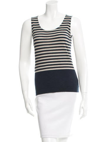 Akris Striped Wool Top None