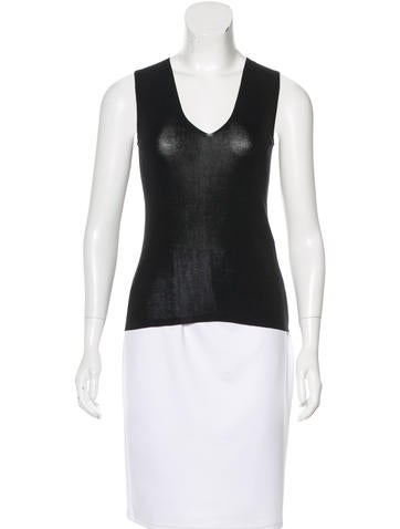 Akris Sleeveless Knit Top w/ Tags None
