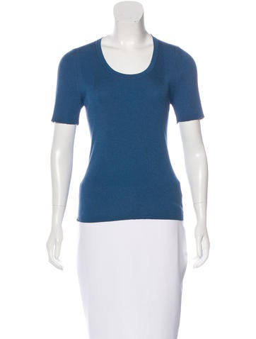 Akris Knit Silk Top None