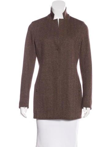 Akris Wool & Cashmere-Blend Jacket None