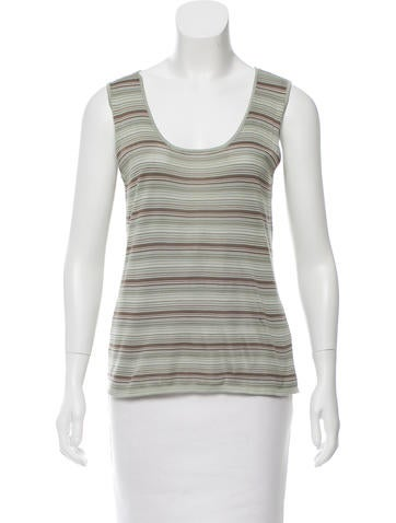 Akris Silk Striped Top w/ Tags None