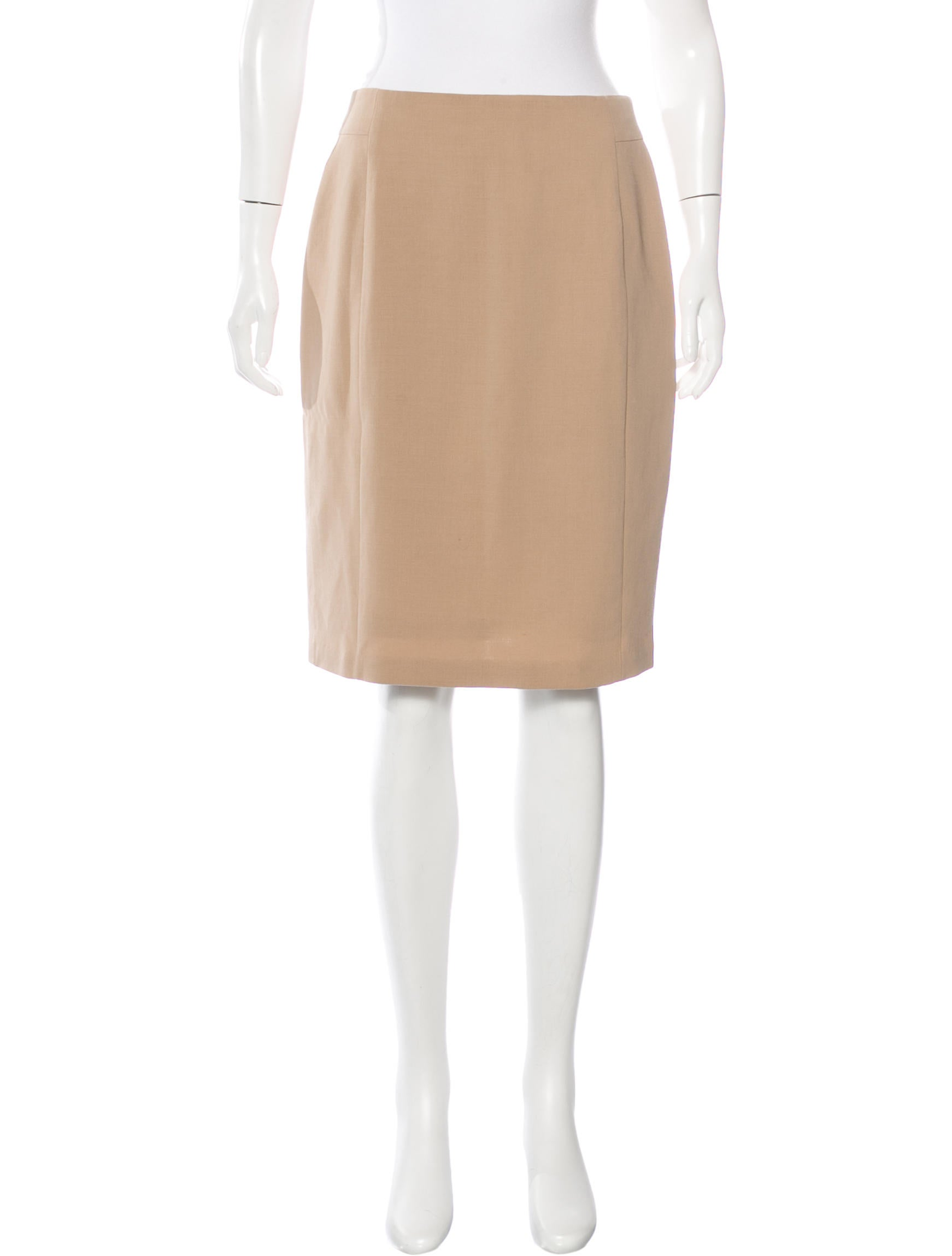 akris tailored pencil skirt clothing akr30516 the