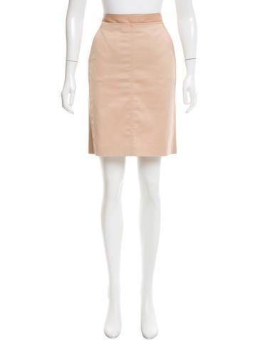 Akris Knee-Length Pencil Skirt None