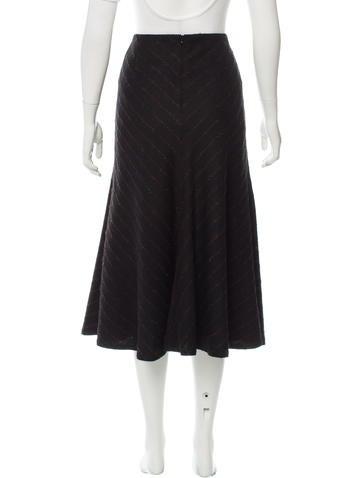 akris textured midi skirt clothing akr31448 the realreal