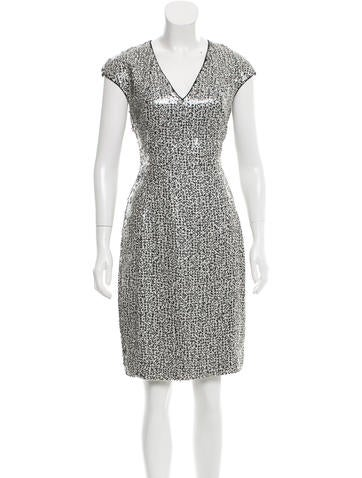Akris Sequin Knee-Length Dress w/ Tags None