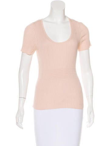 Akris Short Sleeve Knit Top None