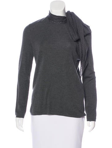 Akris Cashmere Knit Sweater w/ Tags None